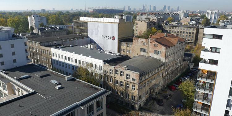 Zdjęcie z drona do wizualizacji architektonicznej