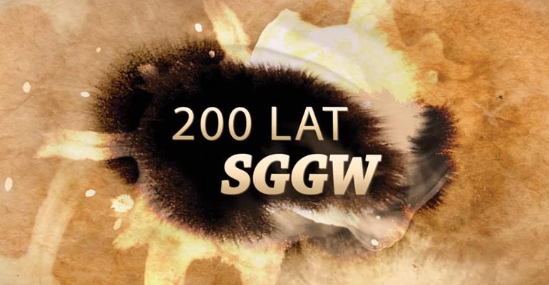 Film zrealizowany na 200 lecie SGGW - produkcja wspólnie z Aura film