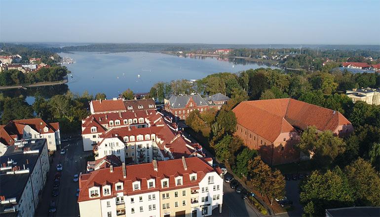 Ujęcia z drona na sprzedaż - miasta i miasteczka - Ostróda