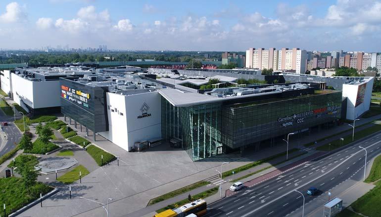 Ujęcia z lotu ptaka na sprzedaż - Galeria Północna w Warszawie (Tarchomin)