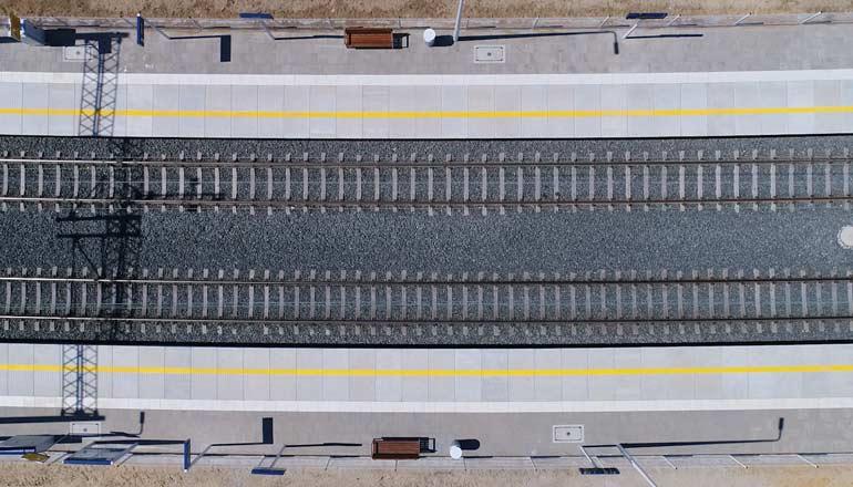 Ujęcia z lotu ptaka na sprzedaż - Infrastruktura kolejowa w Koźlicach