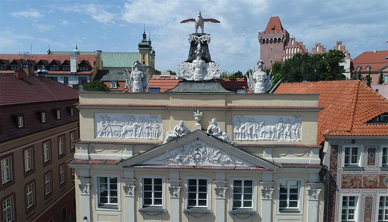 Ujęcia z drona na sprzedaż - Miasto Poznań i Stary Rynek