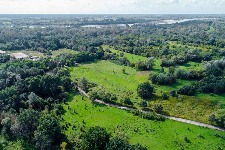 Zdjęcia z drona nieruchomości oraz terenów na sprzedaż