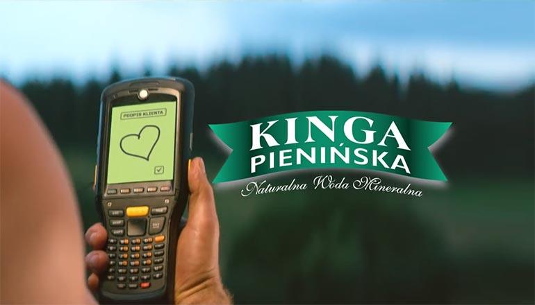 Ujecia z drona do reklamy telewizyjnej Kingi Pienińskiej