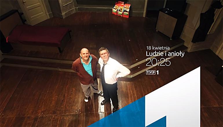 Ujęcia z drona dla TVP - sztuka ludzie i anioły TV