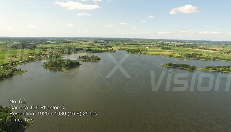 Ujęcia z drona mazurskich jezior - filmy stockowe na sprzedaż - część 2