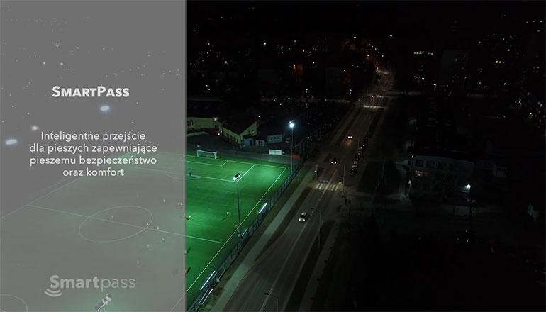 Film informacyjo promocyjny dla firmy Euroasfalt - inteligentne przejścia dla pieszych