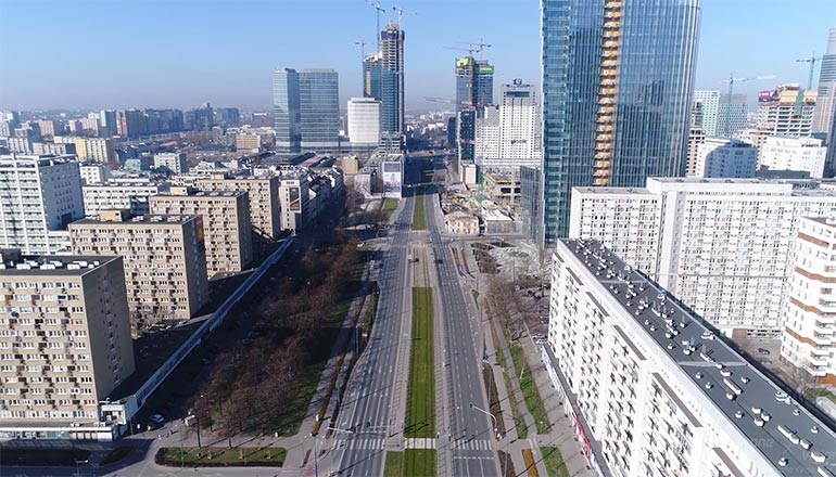 Film zrealizowany podczas lockdownu w Warszawie podczas Pandemii Covid-19