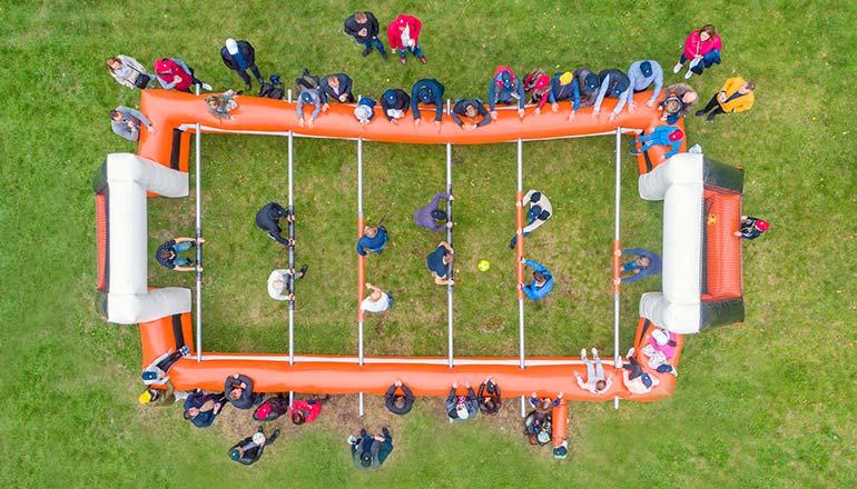 Drone X Vision - zdjęcia z drona podczas eventów firmowych, imprez i wydarzeń sportowych