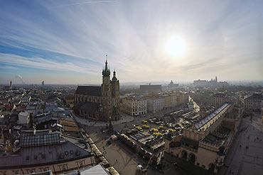 Drone X Vision - zdjęcia z drona Kraków - Stare Miasto