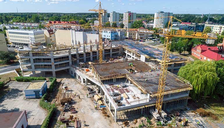 Drone X Vision - Zdjęcia z drona dla branży budowlanej, place budowy z powietrza