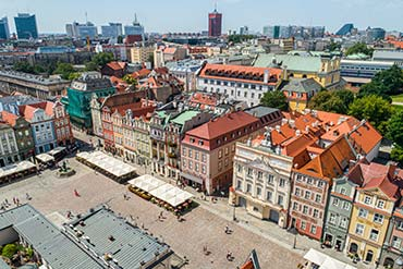 Drone X Vision - Zdjęcia dronem Poznań - Stare Miasto i Kamienice