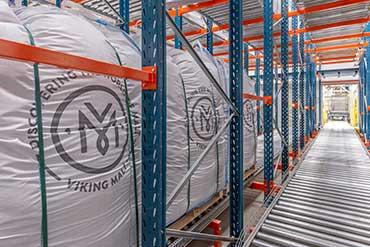 Zdjęcie nowego magazyny Strzegomskiej firmy Viking Malt
