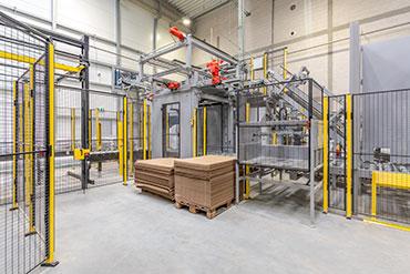 Zdjęcie nowego magazyny i hali produkcyjnej Strzegomskiej firmy Viking Malt