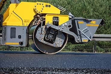 Drone X vision - fotografia z modernizowanego odcinka autostrady