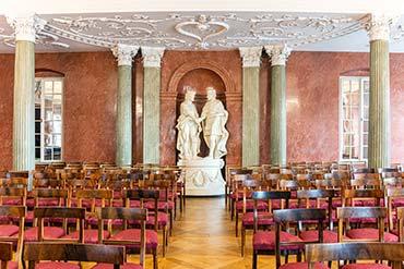 Zdjęcie sali w Pałacu Działyńskich w Poznaniu - Drone X Vision