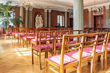 Fotografia sali w Pałacu Działyńskich w Poznaniu - Drone X Vision
